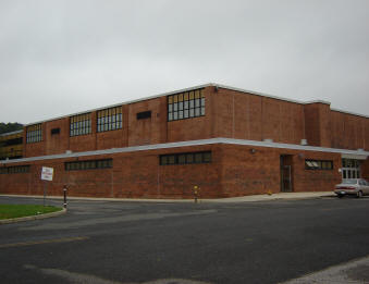 North gym exterior view