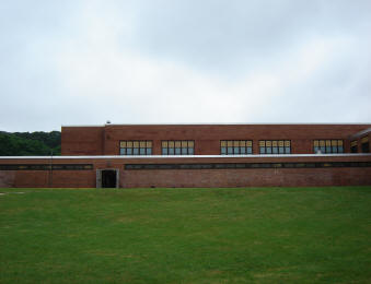 South gym exterior view